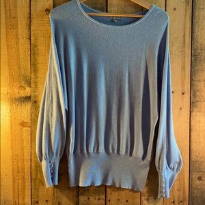EUC Joseph A Oversized Blue Sweater